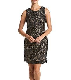 Taylor Dresses® Beaded Sequin Dress