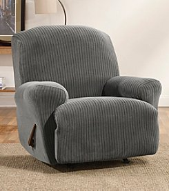 Sure Fit® Stretch Ribbon Stripe Recliner Slipcover
