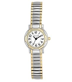 Anne Klein® Two-Tone Expansion Band Watch