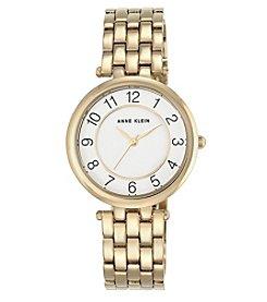 Anne Klein® Easy Reader Goldtone Bracelet Watch