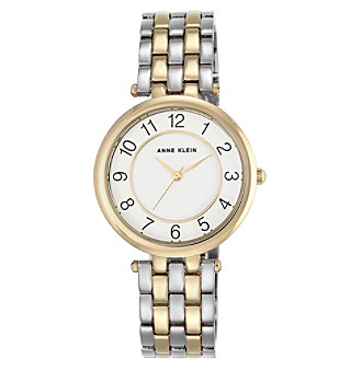 Anne Klein® Easy Reader Two-Tone Bracelet Watch