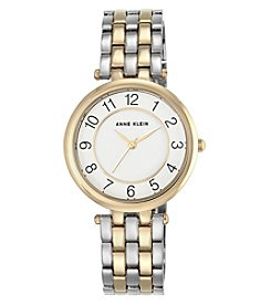 Anne Klein® Easy Reader Two-Tone Bracelet Watch