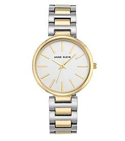 Anne Klein® Two-Tone Bracelet Link Watch