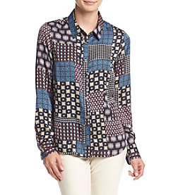 Tommy Hilfiger® Button Down Blouse