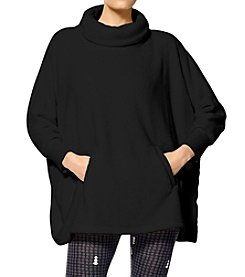 HUE® Fleece Poncho