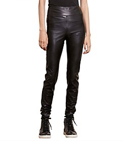 Lauren Ralph Lauren® Petites' Faux-Leather Leggings
