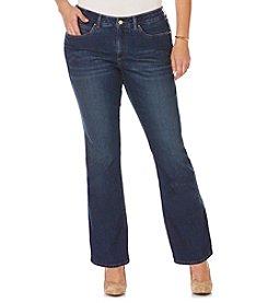 Rafaella® Plus Size Comfort Waist Bootcut Jeans