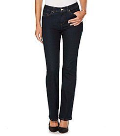 Rafaella® Petites' Denim with Benefits™ Comfort Waist Bootcut Jeans