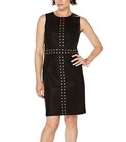 Rafaella® Faux Leather Dress