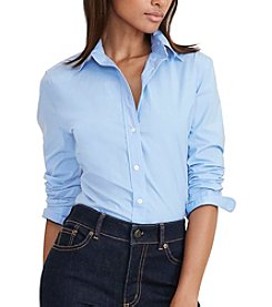 Lauren Ralph Lauren® Stretch Cotton Shirt