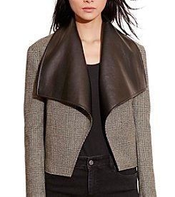 Lauren Ralph Lauren® Glen Plaid Wool Jacket