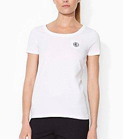 Lauren Ralph Lauren® Crew Neck Pocket T-Shirt