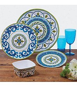 Certified International by Joyce Shelton Blue Grotto Dinnerware Collection