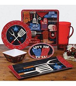 Certified International by Pela Studio BBQ Bandit Dinnerware Collection