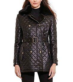 Lauren Ralph Lauren® Belted Quilt Jacket