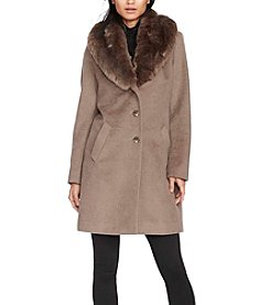 Lauren Ralph Lauren® Faux Fur Collar Jacket