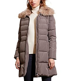 Lauren Ralph Lauren® Chevron Quilted Down Jacket