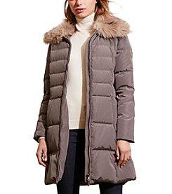 Lauren Ralph Lauren® Chevron Quilted Down Jacket