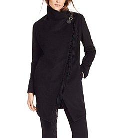 Lauren Ralph Lauren® Asymmetrical Fringe Jacket