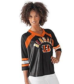 G III NFL® Cincinnati Bengals Women's Blitz Jersey Tee