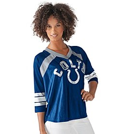G III NFL® Indianapolis Colts Women's Blitz Jersey Tee