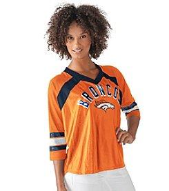 G III NFL® Denver Broncos Women's Blitz Jersey Tee
