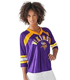 G III NFL® Minnesota Vikings Women's Blitz Jersey Tee