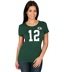 Majestic NFL® Green Bay Packers Women's Aaron Rodgers 12 Fair Catch Tee