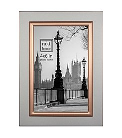 MKT@Home Ella Frosted Silvertone Photo Frame