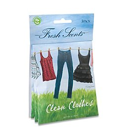 Fresh Scents™ Clean Clothes Sachet 3-Pack