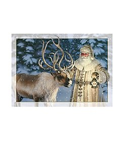 LPG Greetings Santa & Reindeer Holiday Cards