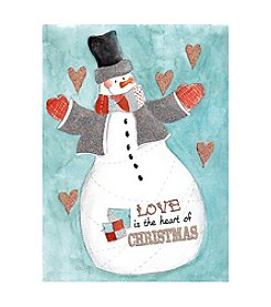 The Pomeroy Collection Snowman Love Holiday Cards
