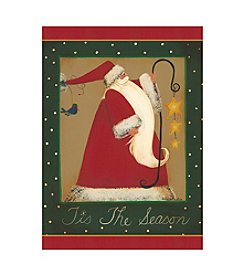 LPG Greetings Santa Holiday Cards With Keepsake Box