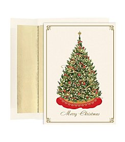 Masterpiece Elegant Tree Boxed Holiday Cards