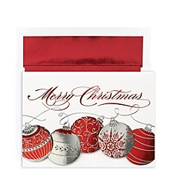 Masterpiece Christmas Ornaments Boxed Holiday Cards
