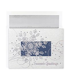Masterpiece Snowflake Flurry Boxed Holiday Cards