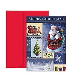 Masterpiece Santa Collage Boxed Holiday Cards