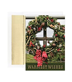 Masterpiece Western Wreath Boxed Holiday Cards