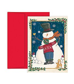 Masterpiece Snowman Love Boxed Holiday Cards