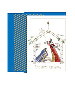 Masterpiece Contemporary Manger Boxed Holiday Cards