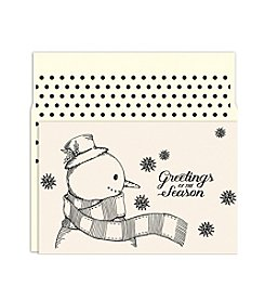 Masterpiece Vintage Snowman Boxed Holiday Cards