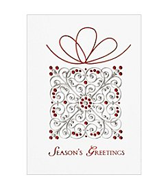 Masterpiece Season's Greetings Present Boxed Holiday Cards
