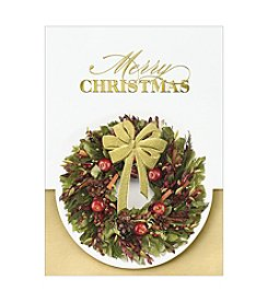 Masterpiece Christmas Wreath Boxed Holiday Cards