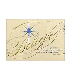 Masterpiece Believe Boxed Holiday Cards
