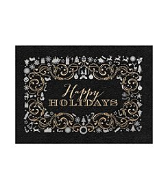 Masterpiece Happy Holidays Gold & Silver Boxed Holiday Cards