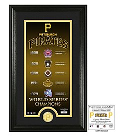 MLB® Pittsburgh Pirates Legacy Supreme Bronze Coin Photo Mint