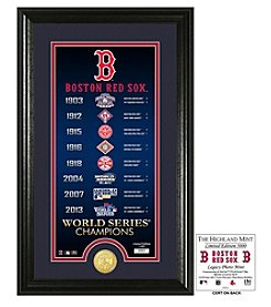 MLB® Boston Red Sox Legacy Supreme Bronze Coin Photo Mint