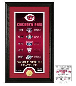 MLB® Cincinnati Reds Legacy Supreme Bronze Coin Photo Mint