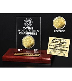 MLB® Toronto Blue Jays World Series Champions Gold Coin Etched Acrylic