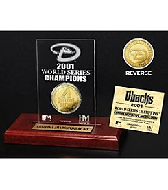 MLB® Arizona Diamondbacks World Series Champions Gold Coin Etched Acrylic